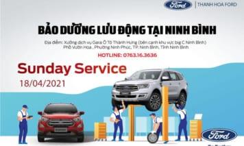 Ngày chủ nhật dịch vụ – Bảo dưỡng lưu động tại Ninh Bình