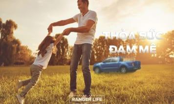 """FORD khởi động chiến dịch thương hiệu mới """"LIVE THE RANGER LIFE"""""""