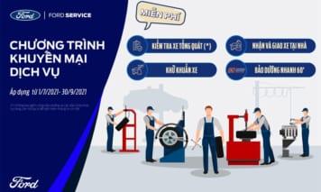 Chương trình khuyến mại dịch vụ quý 3